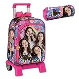 Backpack Set Soy Luna Large School Bag Unique 43cm Bundle with Trolley and Pencilcase