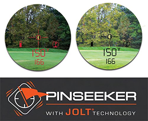Bushnell Pro X2 Golf Laser Rangefinder | Cart Mount Bundle | Includes Golf Rangefinder (Slope & Non-Slope Function), Carrying Case, Magnetic Golf Cart Mount (Black) and One (1) CR2 Battery by PlayBetter (Image #5)