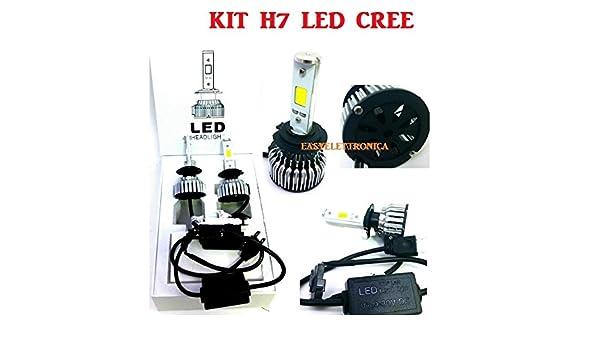 Nuevo kit H7 LED Cree homologado, apto para BMW GS 1200 800 650 x luz de cruce y luces largas, bombillas LED, fácil montaje: Amazon.es: Electrónica