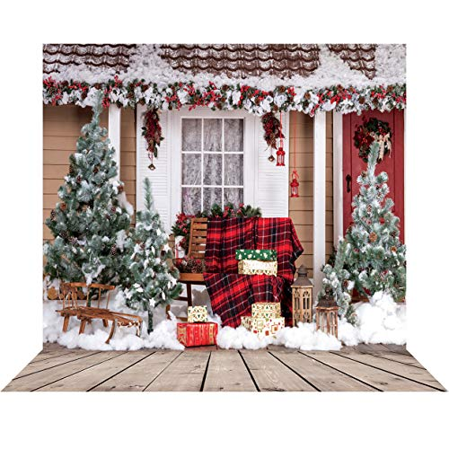 SJOLOON 10x10ft Beautiful Christmas Theme Pictorial Cloth Customized Photography Backdrop Background Studio Prop 10280 -