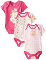 Disney Baby Girls'  Girls Pooh 3 Pack Bodysuit Set