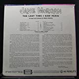 Jane Morgan - The Last Time I Saw Paris - Lp Vinyl Record
