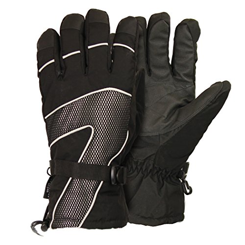 Mens Breathable Waterproof Winter Glove