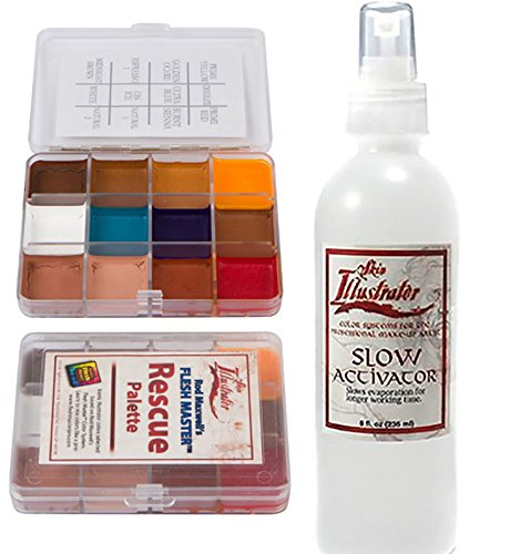 Skin Illustrator On Set Palette Rescue and Slow Activator Bundle by Skin Illustrator