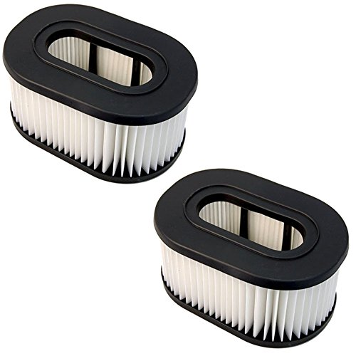 HQRP Filter 2-Pack for Hoover U5161900 U5161-900 U5162900 U5162-900 U5163900 U5163-900 Fold Away Widepath Bagless Upright Vac Vacuum Cleaner Foldaway Coaster
