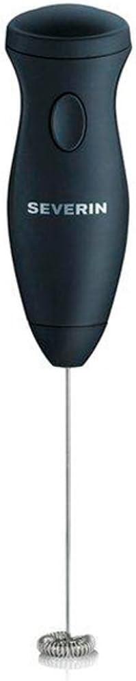 SEVERIN Emulsionador de Leche, Eléctrico, Funcionamiento con Pilas, Incl. 2 x Pilas AA, SM 3590, Negro