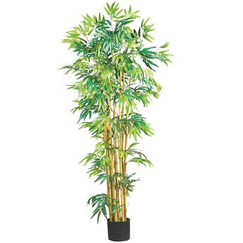 Nearly Natural 5' Bambusa Bamboo Silk Tree