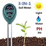 Kyпить Soil pH Meter, 3-in-1 Soil Test Kit for Moisture, Light & pH/Acidity, Gardening Tools for Home and Garden, Lawn, Farm, Plants, Indoor & Outdoor Plant Care Soil Tester (No Battery Needed) на Amazon.com