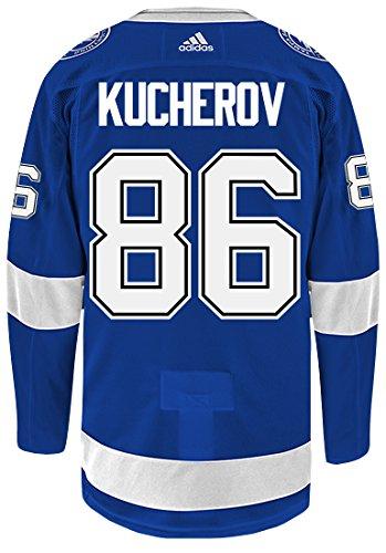 adidas Tampa Bay Lightning Nikita Kucherov Authentic Pro Jersey Blue (50/M)