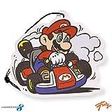 video game car air freshener - Nintendo OFFICIAL SNES Retro ORIGINAL Mario Kart Air Freshener - New Car Smell