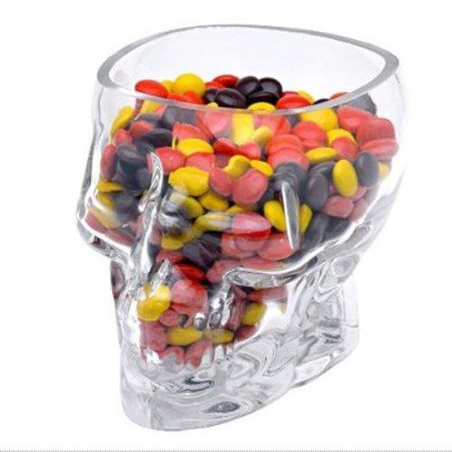 Knob Glass Amethyst Door (Crystal Skull - Skull Head Vodka Whiskey Shot Glass Cup - Big Aykroyd Knobs Coffee Necklace Cups Movie Shirt Book Healing)