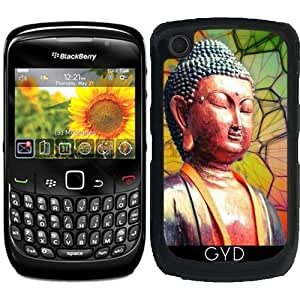 Funda para Blackberry Curve 8520/8530/9300/9330 - Buda Zen Religión Yoga by WonderfulDreamPicture