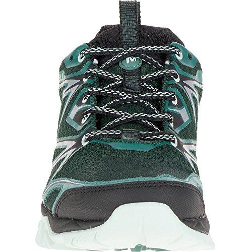 green Gore black blue Shoes Capra tex Women's Bolt Merrell Rise Hiking Low wB1EqzR7