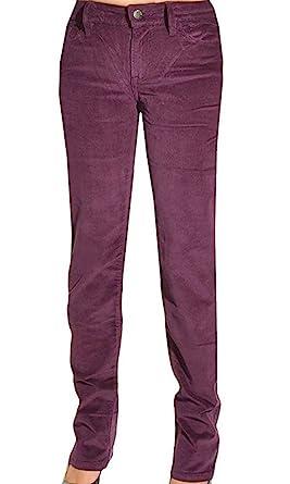 0c38c325e94 Calvin Klein Jeans Womens Pants Power Stretch Corduroy Straight Leg Slim  Fit (2 x 34 quot
