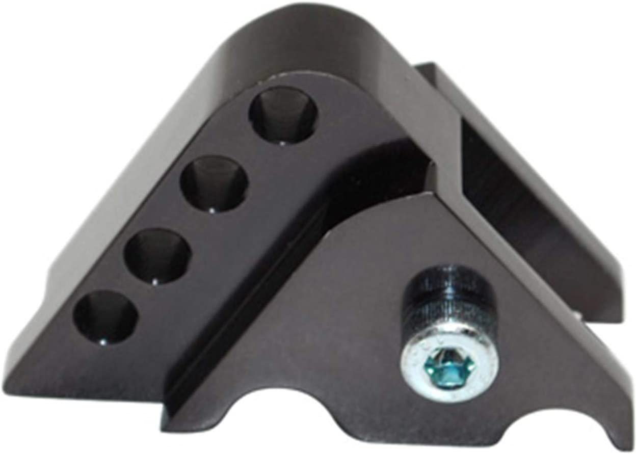 NITRO AEROX REHAUSSE AMORTISSEUR SCOOT REPLAY POUR MBK 50 BOOSTER 2004 NEOS NOIR 4 POSITIONS OVETTO-YAMAHA 50 BWS 2004