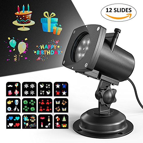 Projector Projection Waterproof Christmas Decorations