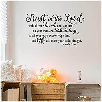Amazoncom Trust In The Lord With All Your Heartproverbs 35 6