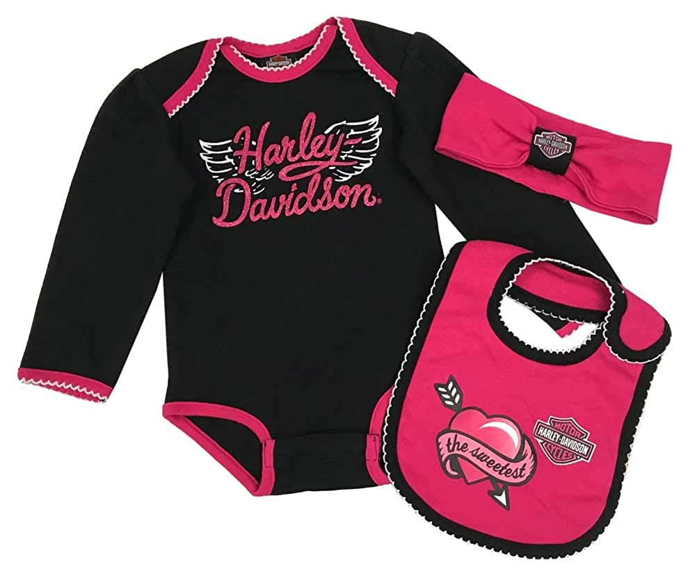Harley-Davidson SHIRT ベビーガールズ 24 Months  B07H9GQ2VC