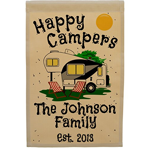 Review Happy Campers Personalized 5th