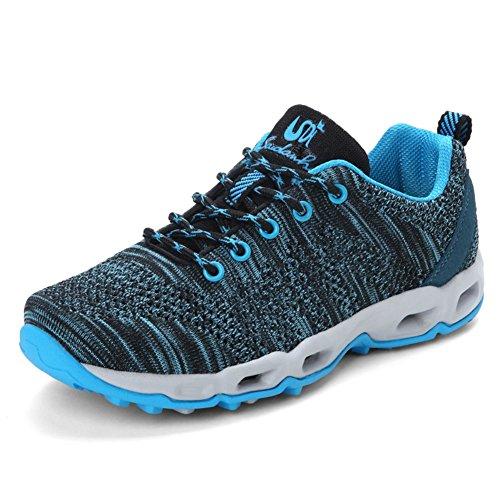 会員回復する好意QD-WST ランニングシューズ 防水 スニーカー 軽量 レディース メンズ ジョギングシューズ ウォーキング 運動靴 通学靴 男女兼用22.5cm-27.5cm