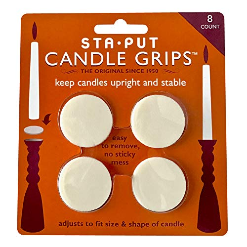 Sta-Put Candle Grips (8 Pack)