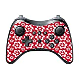 Fun Flowers Pattern Bold Wii U Pro Controller Vinyl Decal Sticker Skin by Debbie's Designs