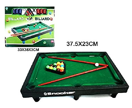 BG International - Juego de Billar 26 x 33 cm: Amazon.es: Juguetes ...