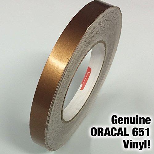 ORACAL 651 Gloss Gold Metallic Adhesive Vinyl Pinstripe Detailing Tape (2