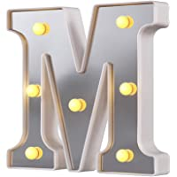 Luces LED de letras, 26 letras del alfabeto