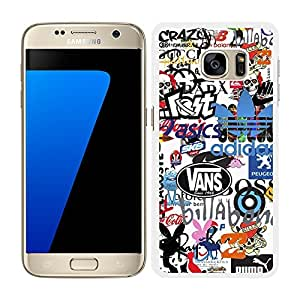 FUNDA CARCASA PARA SAMSUNG Galaxy S7 Edge DISEÑO STICKER BOMB MOD.4