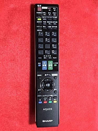 シャープ 液晶テレビ(AQUOS) 純正リモコン GA912WJSA (0106380333) product image