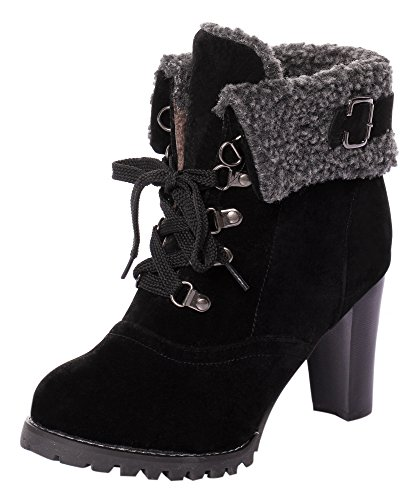 CAIHEE Womens Stiletto Ankle Booties
