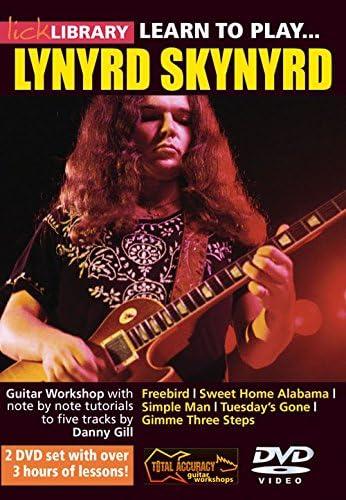 Lick Library: Learn To Play Lynyrd Skynyrd. Para Guitarra: Amazon ...