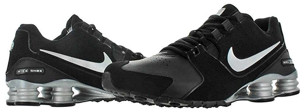 best website c5ae0 51624 ... france amazon nike shox avenue leather mens running shoes sneakers  athletic 5660f b0bfb