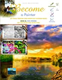 ac art - Art Book, Painting and Grayscale Coloring Book. Become a Painter. Vol 1, Nature Is Beautiful. Book AC, Pics: Strong: Art For Adults and Gifted Kids