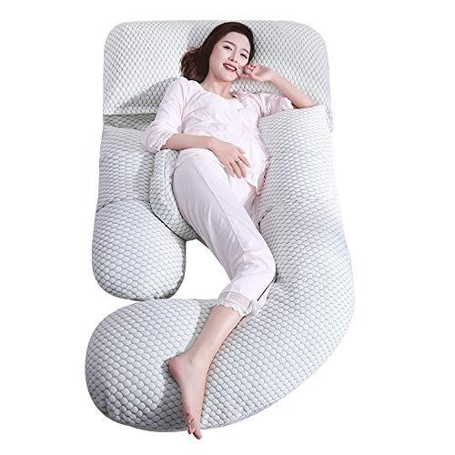 - Femmes enceintes oreiller taille côté oreiller sommeil multi-fonction oreiller en forme de u estomac lever côté oreiller enceinte oreiller sommeil des fournitures de tapis de sommeil Tissus probiotiqu