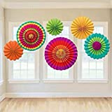 Susenstone Tissue Paper Party Wedding Birthday Hanging Fiesta Paper Fan Decorations