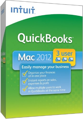 UPC 666670062436, QuickBooks for Mac 2012 3-User [OLD VERSION]