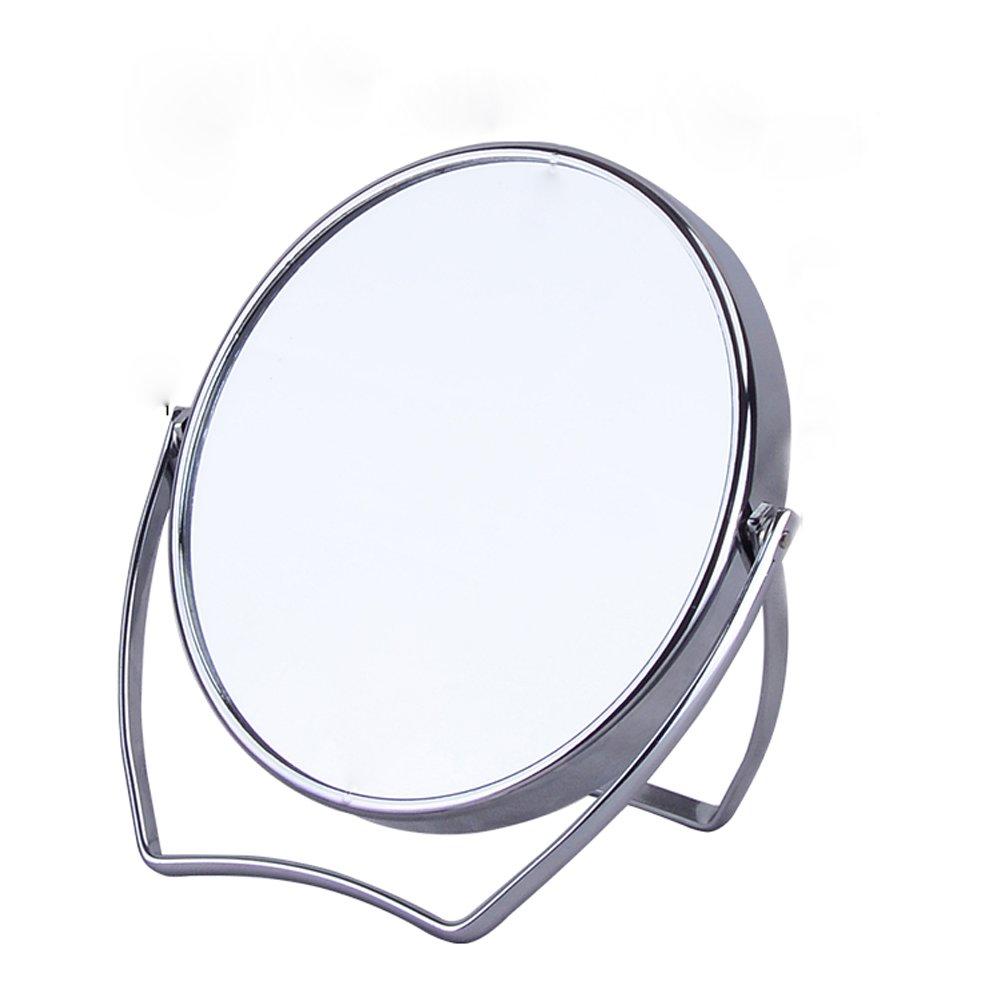 QIN.J.FANG Desktop Makeup Mirror 3X Magnifying Mirror Cosmetic Mirror For Travel Or Bathroom yqigo