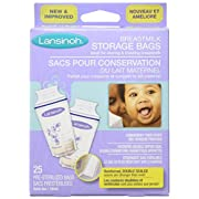 Lansinoh Breastmilk Storage Bag, 25 ct