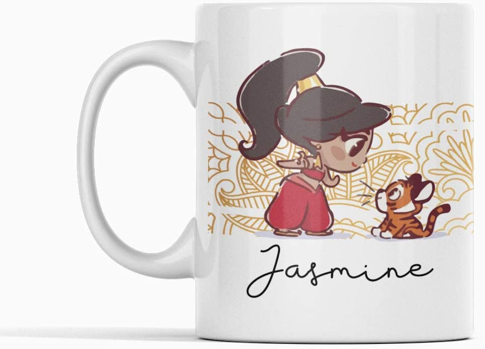 Princesa Disney Desconocido Taza Jasmine Aladdin