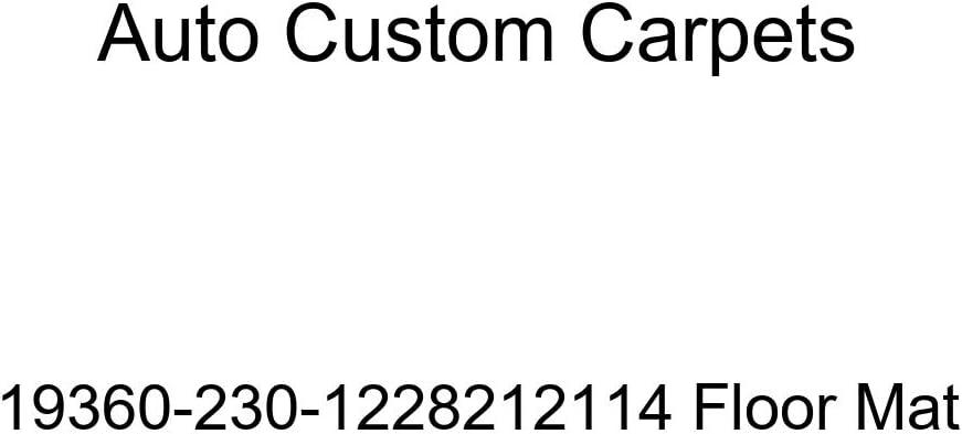 Auto Custom Carpets 19360-230-1228212114 Floor Mat