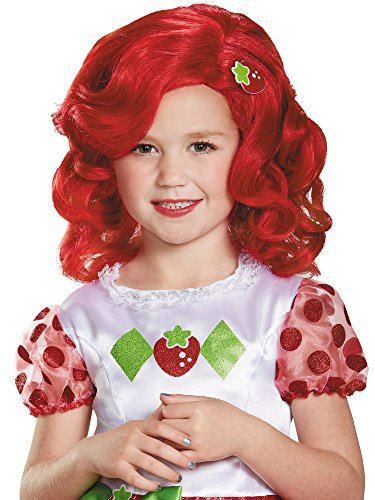 Strawberry Shortcake Deluxe Child Wig Costume -