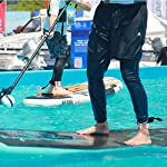 ZOCIPRO-Guinzaglio-per-Tavole-da-Surf-con-2-Pezzi-Custodia-Impermeabile-per-il-Telefono-6-Piedi-SUP-Guinzaglio-Durevole-per-Surf-su-SUP-Paddle-Board-Porta-Cellulare-Subacquea-Universale