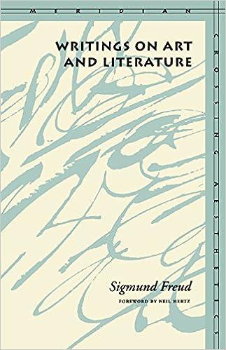 writings on art and literature meridian crossing aesthetics
