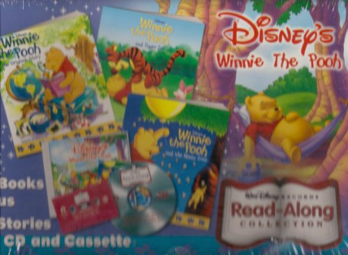Disney's Winnie the Pooh read-along collection (3 books, 1 sound cassette, 1 compact sound disc.)