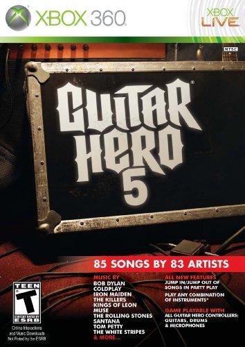 Play Guitar Game - Guitar Hero 5 Stand Alone Software (Bilingual game-play)