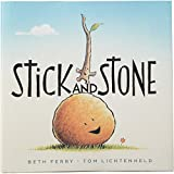Constructive Playthings HB-69 ''Stick and Stone'' a Story of Friendship Hardcover Book, Grade: Kindergarten to 3, 9.4'' Height, 0.55'' Wide, 9.2'' Length