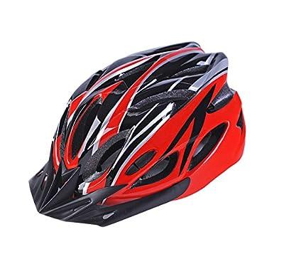 Riding Helmet, Eddis Adult Cycling Helmet Safety Helmet Adjustable Road Mountain Bike Helmet with Ultralight Inner Padding Chin Protector