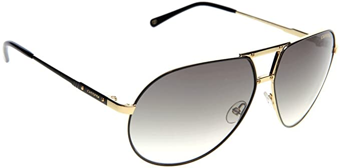 4be703195a4c Image Unavailable. Image not available for. Colour: Carrera Sunglasses Turbo  27TYR Metal Gold Gradient grey black